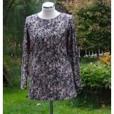 tunika -béžová se vzorem krajky