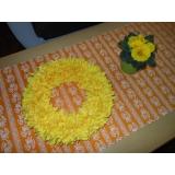 Jarní věneček -žlutý
