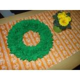 Jarní věneček -zelený