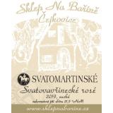 Svatovavřinecké rosé - Svatomartinské 2019