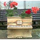 Květináč jako piano