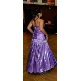 Fialové maturitní šaty v. M