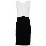 Elegantní černo bílé šaty Rainbow vel.40