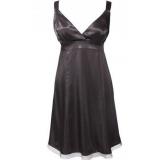 Saténové černé společenské šaty Bonprix vel.40