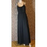 Jednoduché černé dlouhé šaty Esmara vel. M