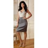 Štříbrné elegantní šaty Bodyflirt vel.40