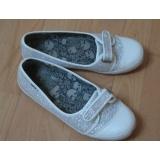 Stříbrné stylové botky vel. 41