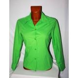 Jarně zelená optimistická dámská košile, vel. M