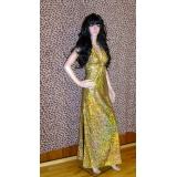 Zlaté společenské šaty, vel.40