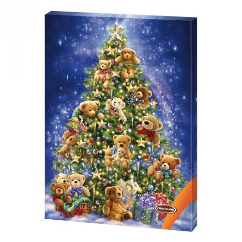 Chocoland adventní kalendář Medvídci 50g