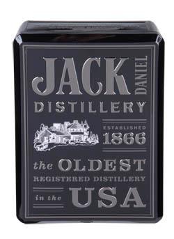 Jack Daniel's Tennessee whiskey 1x700ml + 2 skleničky plech