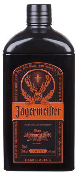 Jägermeister plechové dárkové balení 35% 0,7l
