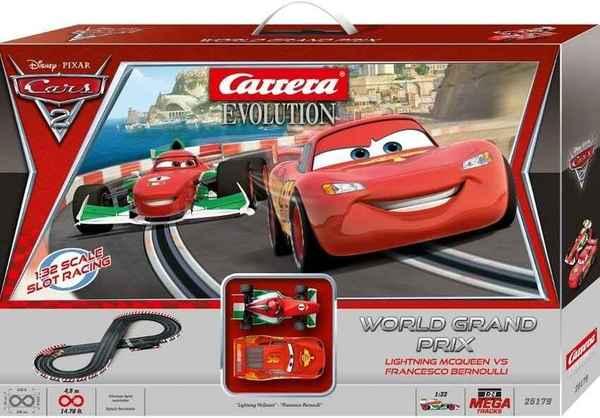 CARRERA Disney Cars 2 - World Grand Prix Evolution