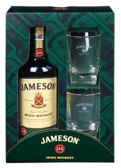 Jameson Irish 0,7l + 2 skleničky