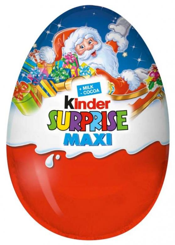 Kinder vajíčko maxi modré 100g