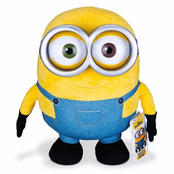 Mimoni Bob velký plyšový mluvící 40 cm MIMOŇOVÉ 2015