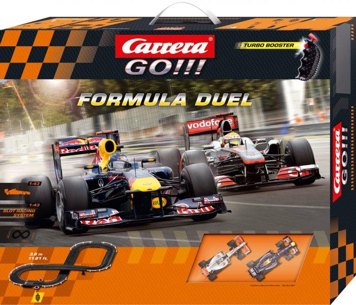 Autodráha Carrera GO!!! Formula Duel