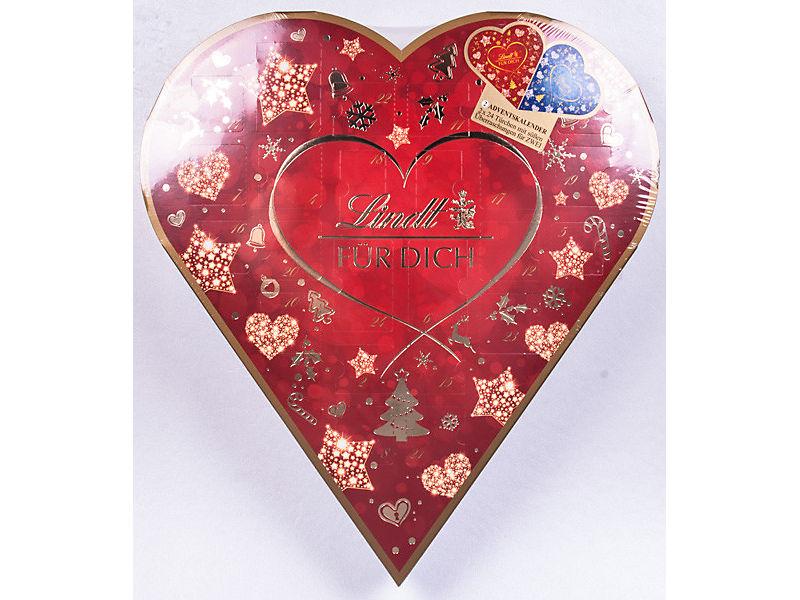 Srdce pro dva Lindt - adventní kalendář