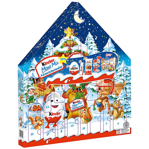 Kinder adventní kalendář mléčná čokoláda