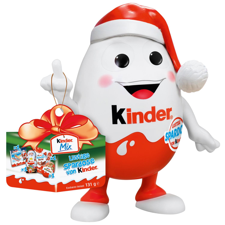 Kinderino vánoční mix 131g