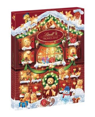 Lindt adventní kalendář Teddy