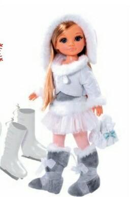 Panenka Nancy - zimní sporty