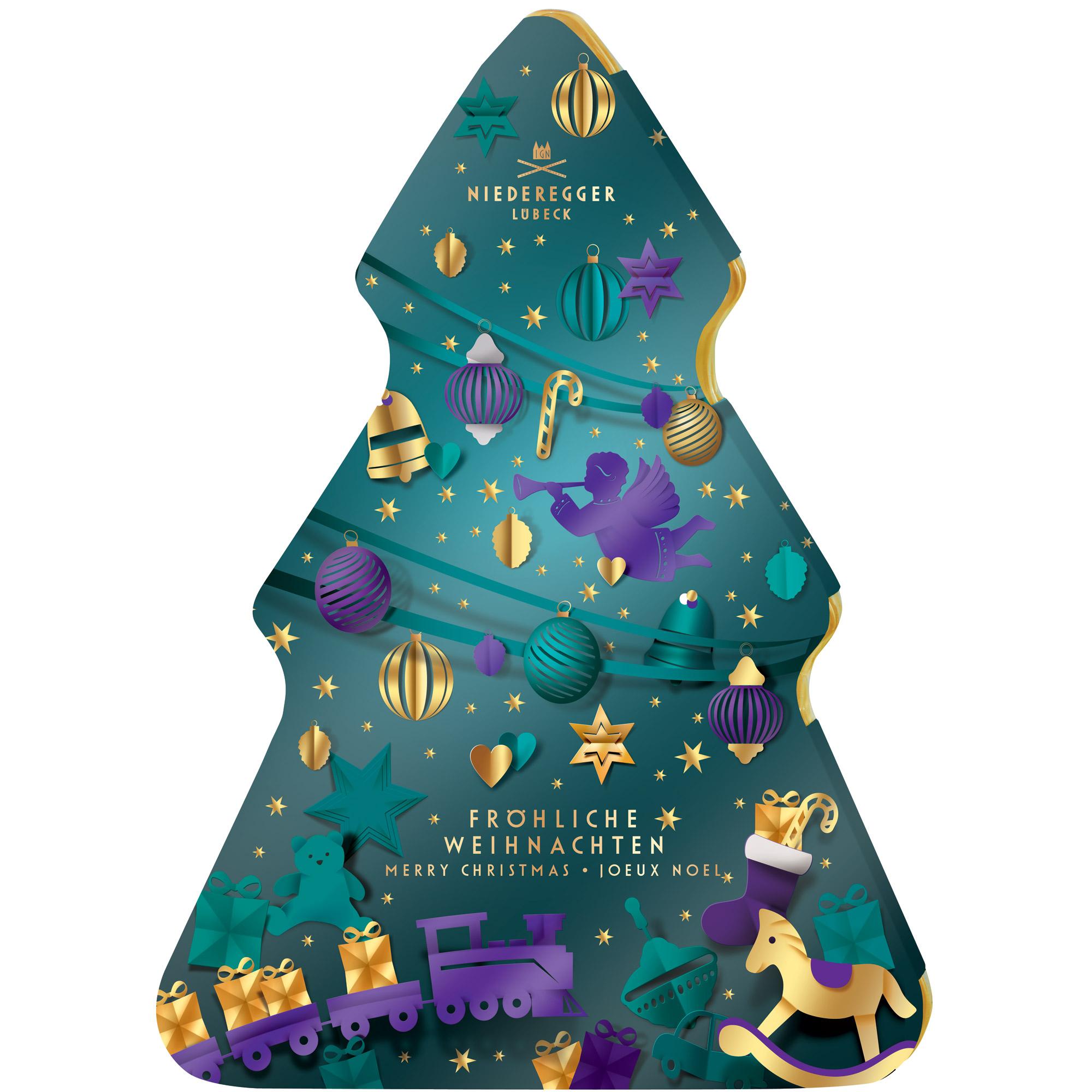 """Niederegger Adventní kalendář """"Vánoční strom"""""""