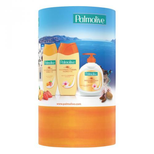 Palmolive kazeta Mediterranean tekuté mýdlo + 2x sprchový gel