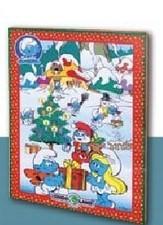 Adventní kalendář šmoulové- CHOCOLAND