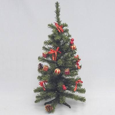 Stromek zdobený umělý 60cm červená