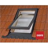 Dřevěná střešní okno s mikroventilací - 55x72 cm
