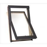 Dřevěné střešní okno RoofLITE AERO s ventilační klapkou - 78x118 cm