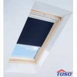 Zcelazatemňujicí modrá roleta pro střešní okna VELUX MK04 / M04 / 304 78x98 cm