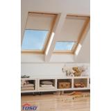 Zcelazatemňujicí béžová roleta pro střešní okna VELUX MK04 / M04 / 304 78x98 cm