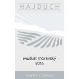 Muškát moravský 2016