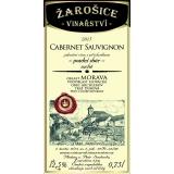 Cabernet sauvignon, pozdní sběr 2015