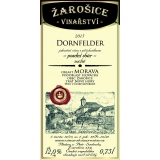 Dornfelder, pozdní sběr 2015