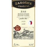 Julie, známkové víno, pozdní sběr 2020