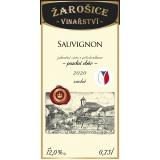 Sauvignon, pozdní sběr 2020