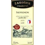 Sauvignon, pozdní sběr 2018