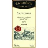 Sauvignon, pozdní sběr 2016