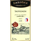 Sauvignon, pozdní sběr 2017