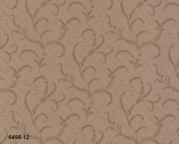 Vinylová tapeta na zeď hnědý ornament 649829