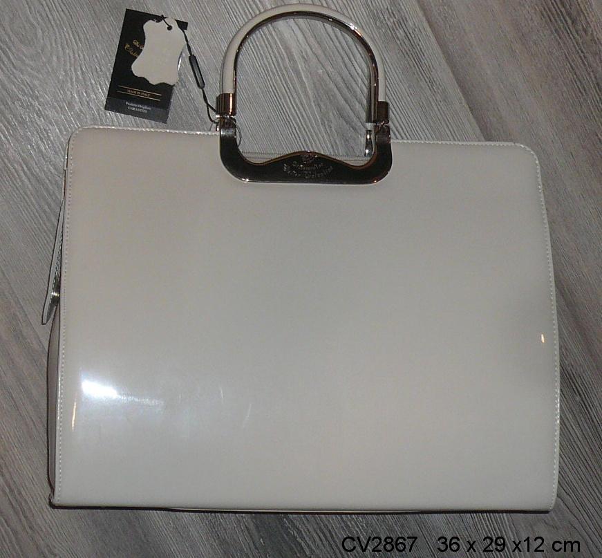 Kabelka Walter Valentino CV2867KR béžová lesklá - výprodej - KABELKY ... 3fe8f24fdd