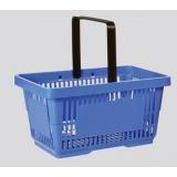 plastový nákupní košík 22 litrů