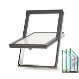 Trojsklo - Plastové střešní okno BALIO s lemováním 78x140 cm