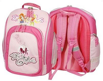 Školní batoh pro prvňáčka Cool RockBabe Just Pink Cherry