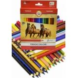 Pastelky - koně 36 barev