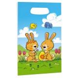 Taška velikonoční - papírová 18 x 32,5 cm