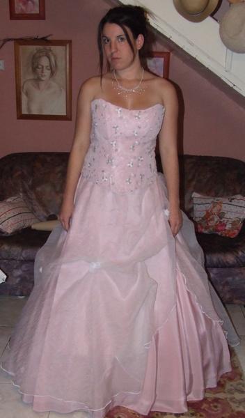 Korzetové šaty růžové R 25B + R 25   M7 - PRODÁNO - Výprodej ... 4346429219
